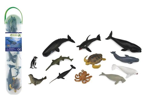 Collecta Collecta Sea creatures Mini 12pcs Set B