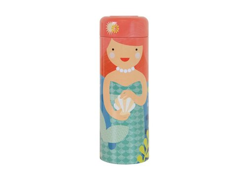 Petit Collage Petit Collage Playful Mermaids 64-piece Puzzle with Coin Bank