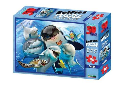 Prime3D Prime 3D Puzzle Ocean Selfie 48 st