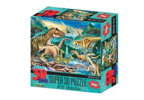 Prime3D Prime 3D Puzzel Dinosaurus Vallei 150 st