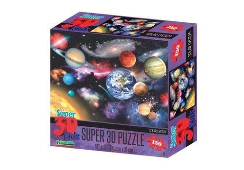Prime3D Prime 3D Puzzel Zonnestelsel 150 st