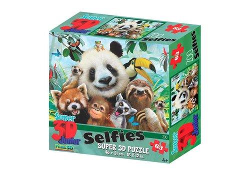 Prime3D Prime 3D Puzzel Zoo Selfie 63 st