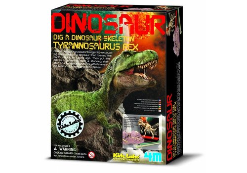 4M 4M Kidzlabs Dinosaur Dig a Dinosaure Tyrannosaurus Rex
