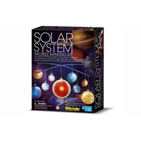 4M KidzLabs Solar System Mobile Building Kit Glow-in-the-dark