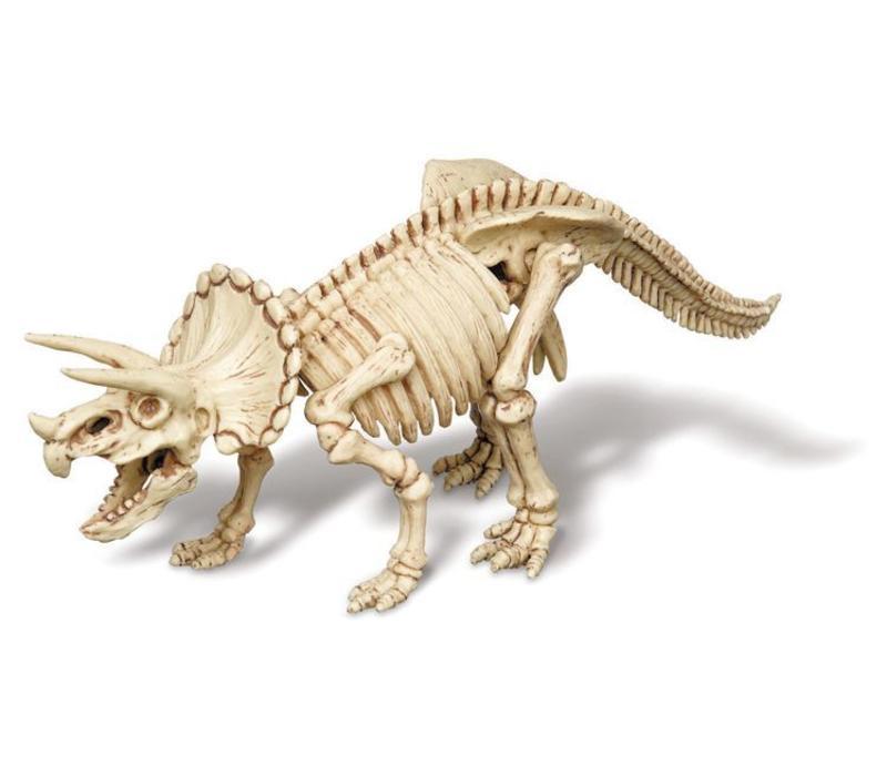 4M KidzLabs Graaf Je Dinosaurus Op Triceratops