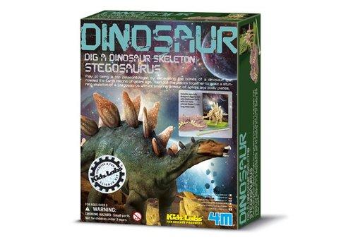4M 4M KidzLabs Graaf Je Dinosaurus Op Stegosaurus