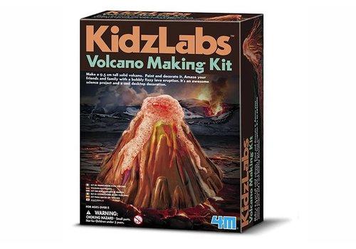 4M 4M KidzLabs Giet en Verf een Vulkaan