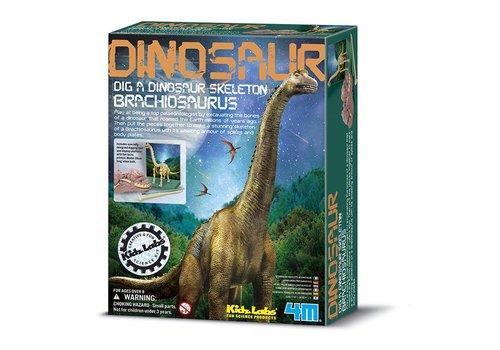 4M 4M KidzLabs Graaf Je Dinosaurus Op Brachiosaurus