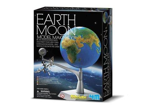 4M 4M KidzLabs Space / Bouwset Aarde-Maan