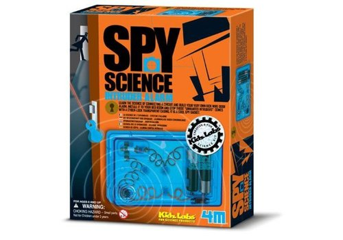 4M 4M KidzLabs Spy Science / Alarm