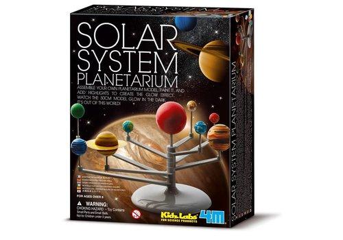 4M 4M KidzLabs Space / Solar System Model Building Kit