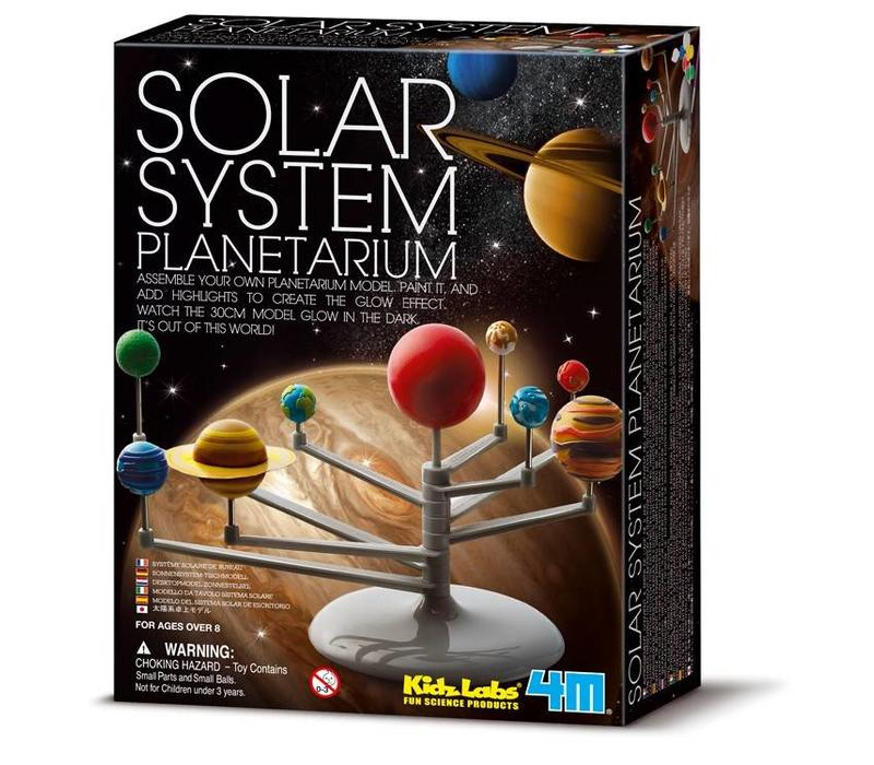 4M KidzLabs Space / Solar System Model Building Kit