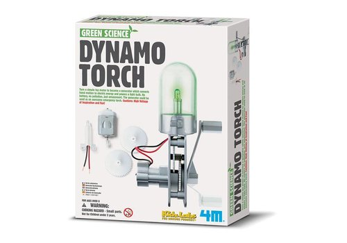 4M 4M Green Science Dynamo Lamp