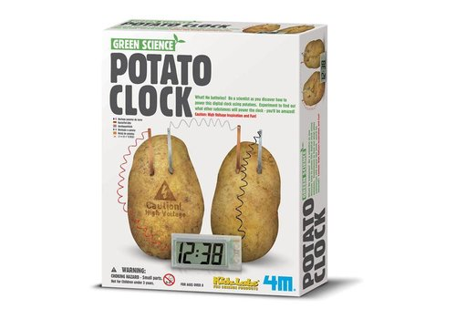 4M 4M Kidzlabs Green Science Potato Clock