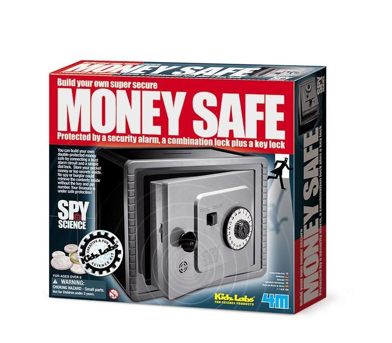 4M KidzLabs Spy Science / Money safe with alarm