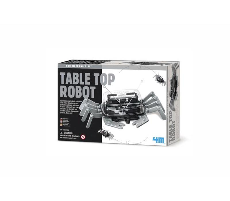 4M Fun Mechanics Kit Tabletop Robot