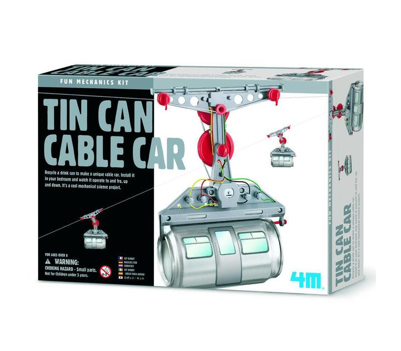 4M Fun Mechanics Kit : Cableway