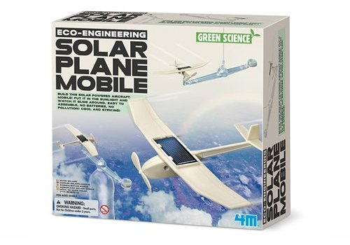 4M 4M Green Science Eco-Engineering Solar Plane