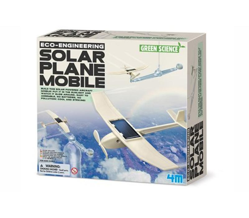 4M Green Science Eco-Engineering Solar Plane