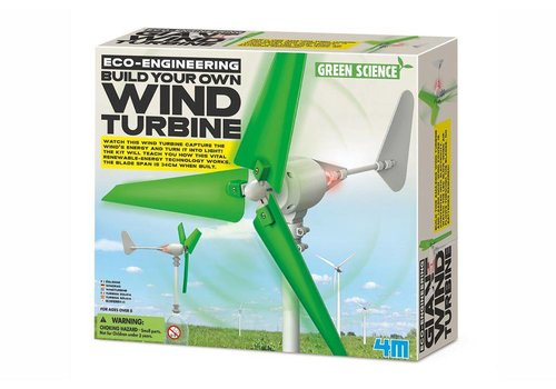 4M 4M Green Science Eco-Engineering Windturbine