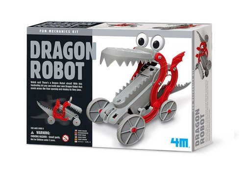 4M 4M Fun Mechanics Kit Robot Dragon