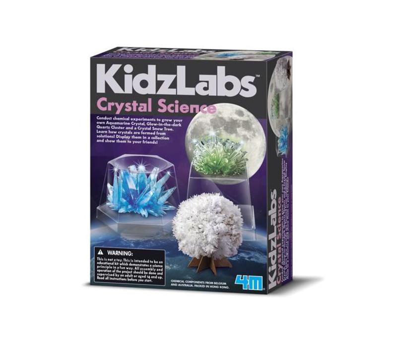 4M Kidzlabs Crystal Science