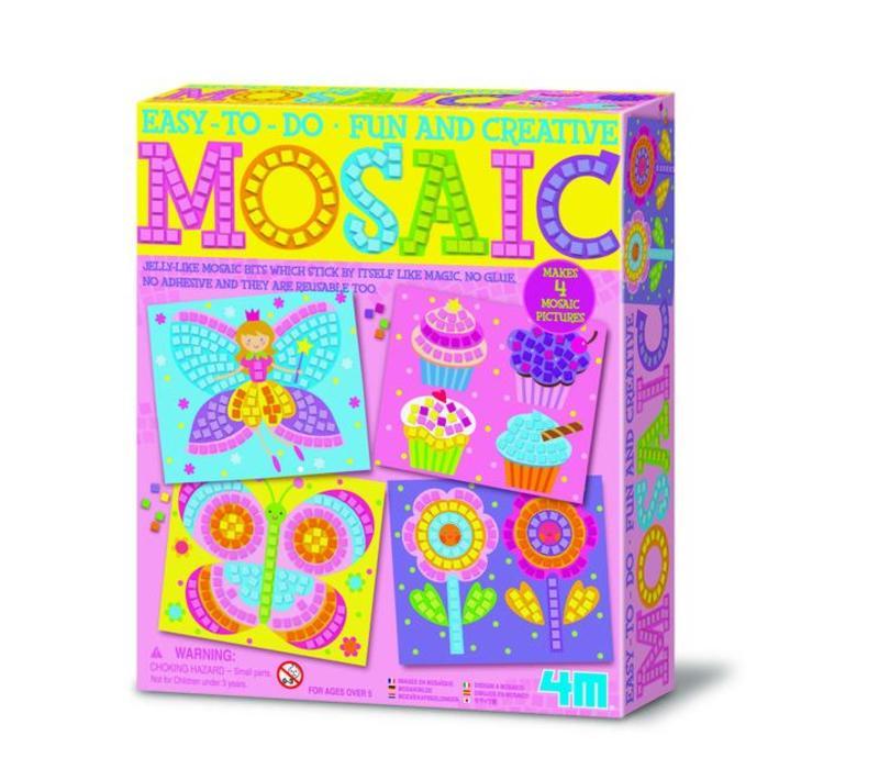 4M Crea Art : Mozaïek-Kit Meisje