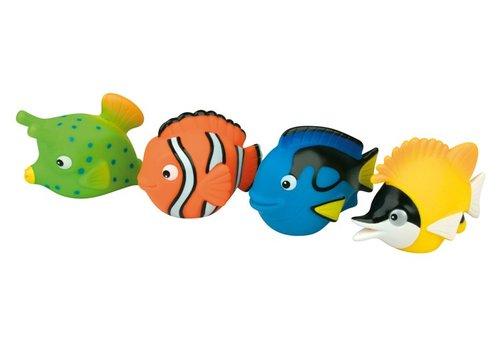 Dam Waterworld  Water sprayer set coral fish friends 4 pieces