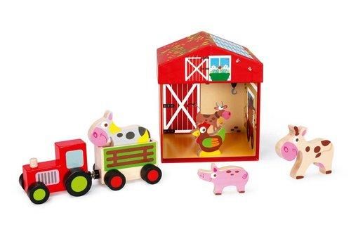 Scratch Scratch Preschool : Speeldoos Boerderij Play & Store