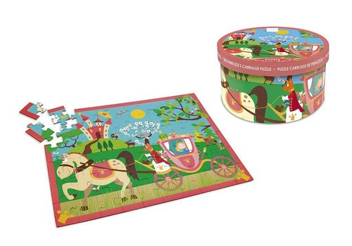 Scratch Scratch Puzzel Prinsessenkoets 60 stuks