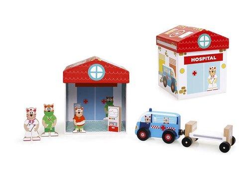 Scratch Scratch Preschool : Speeldoos Ziekenhuis Play & Store