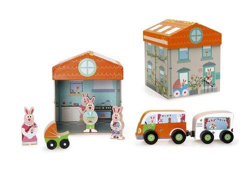 Scratch Scratch Preschool : Speeldoos Huis Play & Store