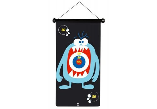 Scratch Scratch magnetic dart Game Monsters