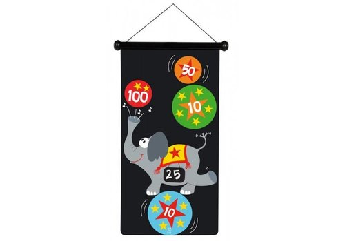 Scratch Scratch Magnetisch dartspel Circus