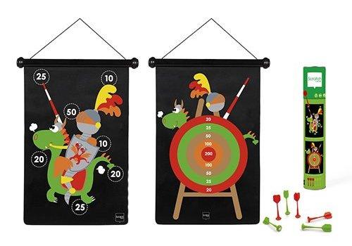Scratch Scratch Magnetic Darts Game 'Knight'