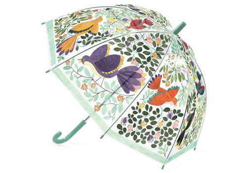 Djeco Djeco Children's umbrella Flowers and Birds