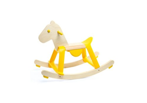 Djeco Djeco Rocking horse Yellow Rock'it