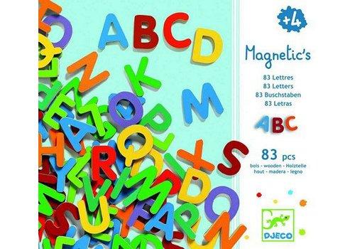 Djeco Djeco Houten Magnetische Letters Small