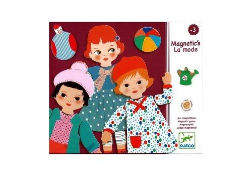 Djeco Djeco Houten Magneten Mode