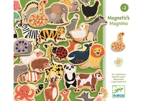 Djeco Djeco Wooden Magnets Magnimo