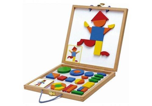 Djeco Djeco Geoform Magnet case