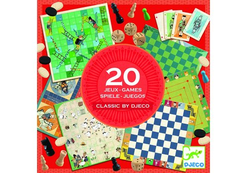 Djeco Djeco Classic Game Box