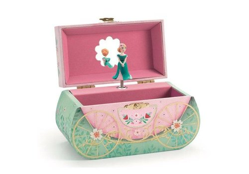 Djeco Djeco Music Box / Juwelry Box The Fairy Tale Carriage