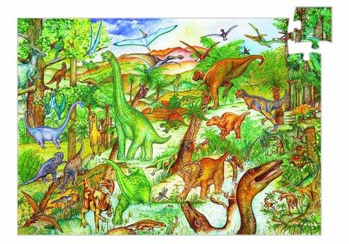 Djeco Djeco Puzzel Dinosaurussen 100 stuks