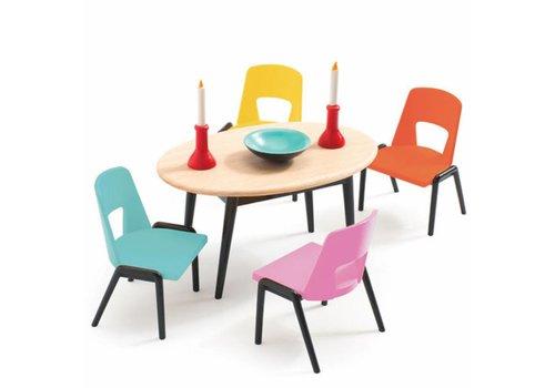 Djeco Djeco meubelset eetkamer