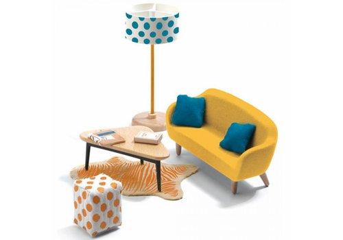 Djeco Djeco Furniture Set for Doll House Living Room