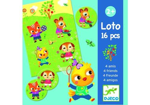 Djeco Djeco loto 'vier vriendjes'