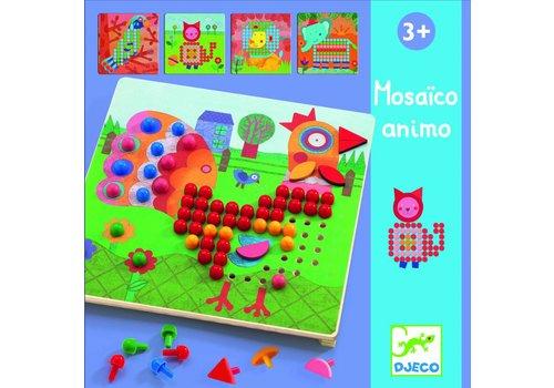 Djeco Djeco dieren mozaiek