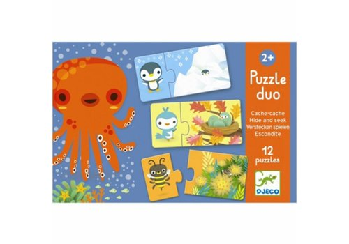 Djeco Djeco Puzzle Duo : Verstoppertje