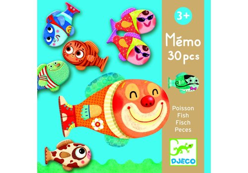 Djeco Djeco little fishing memo
